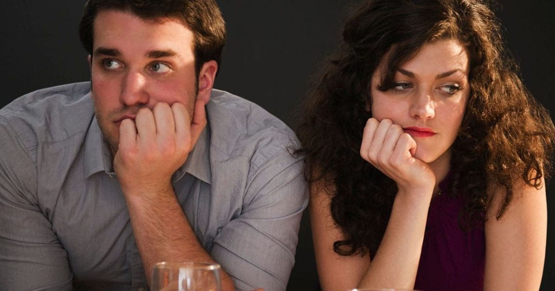 Signs revealing the love is no longer there in a relationship